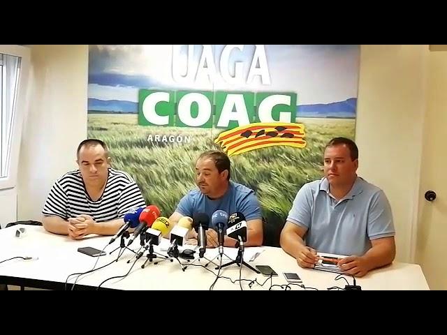 Rueda prensa: crisis precios sector frutícola 23-08-2109