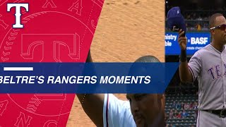 Adrian Beltre's memorable moments with the Rangers