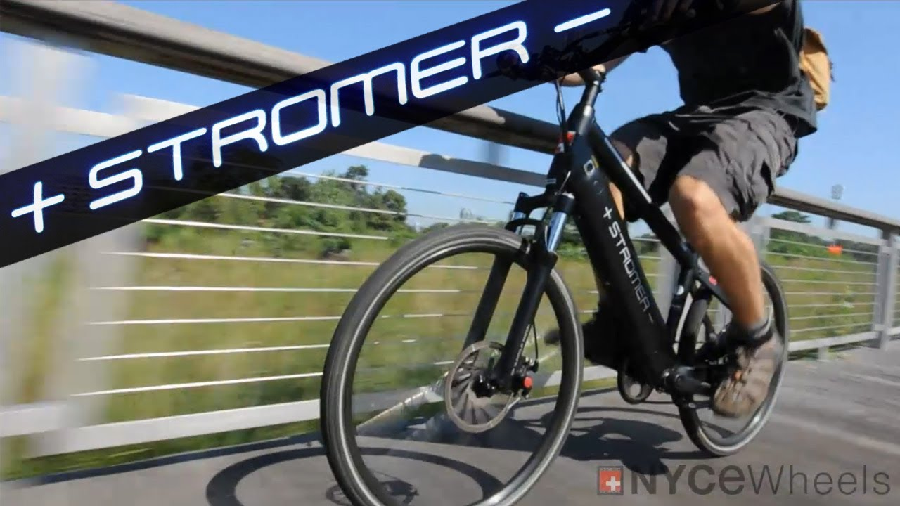 stromer sport electric bike review youtube. Black Bedroom Furniture Sets. Home Design Ideas