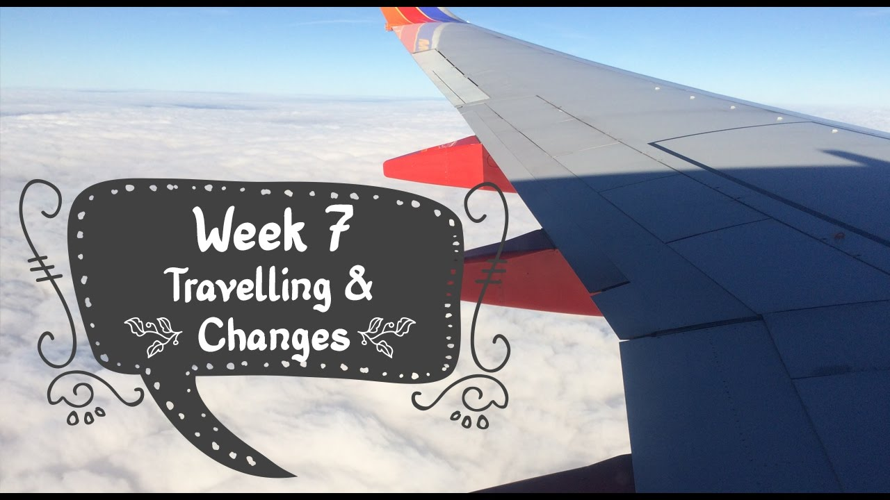 Week 7 Pregnancy VLOG! Travelling and Changes Happening!