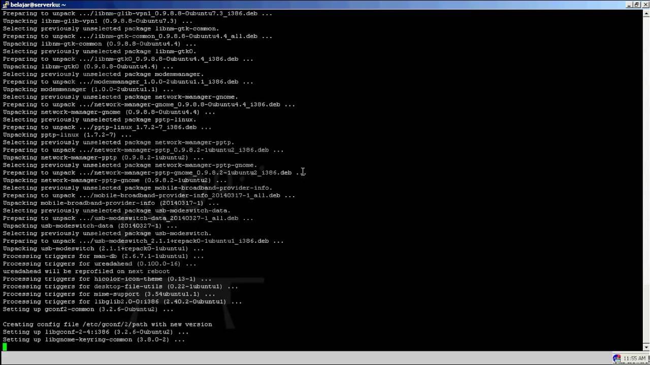 Networking: Ubuntu Server Network-manager unrecognized service
