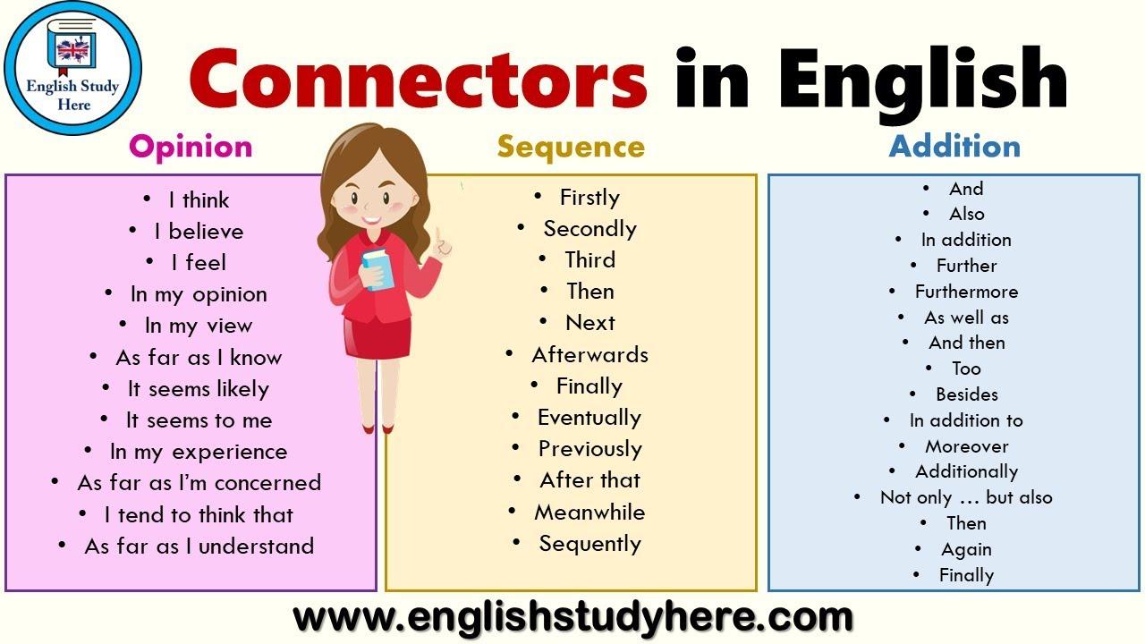 Sequence connectors essay best presentation ghostwriter websites online