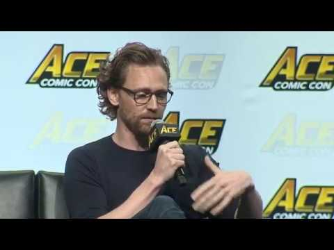Tom Hiddleston and Tom Holland: Loki and Spider-Man Panel   ACE Comic Con Seattle