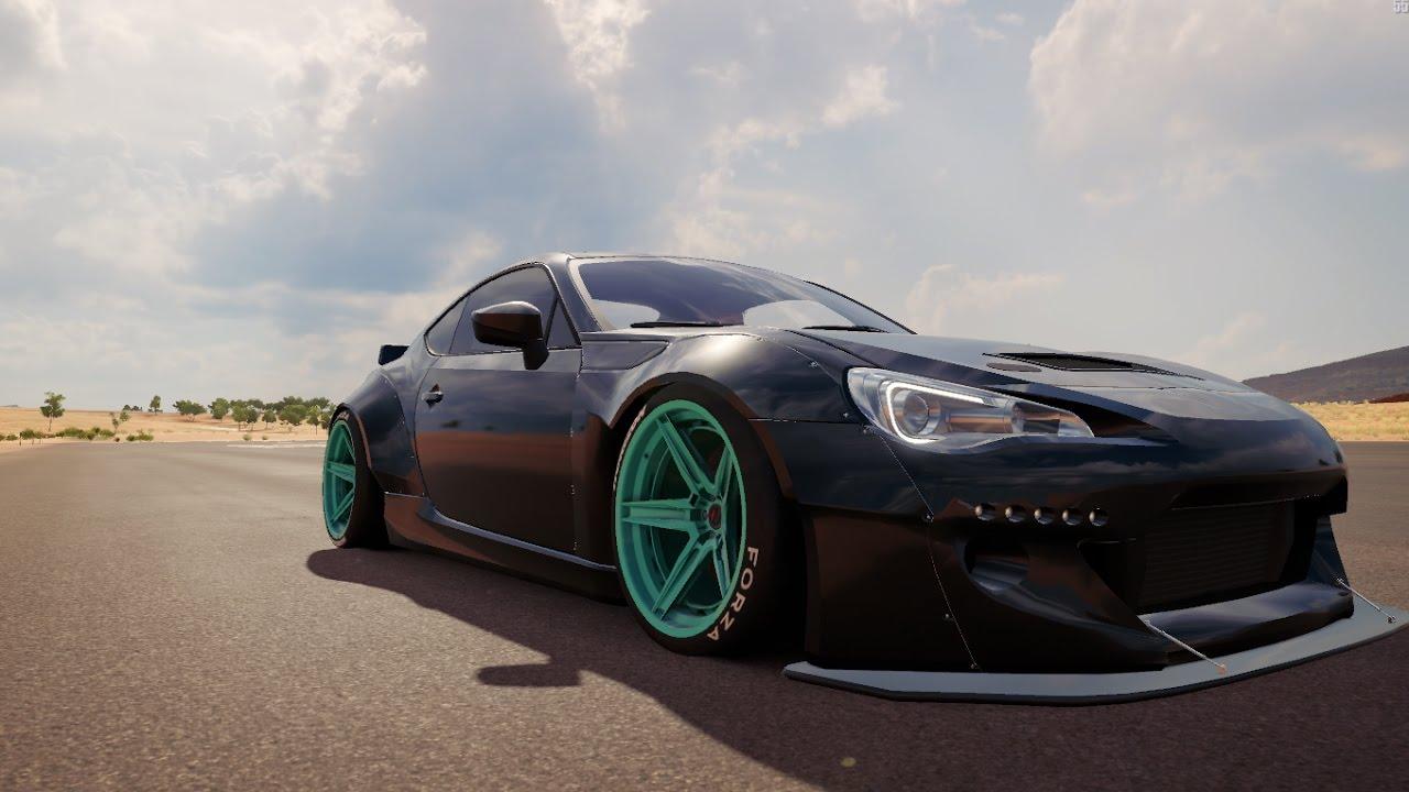 Drift Build   Subaru BRZ   Forza Horizon 3 - YouTube