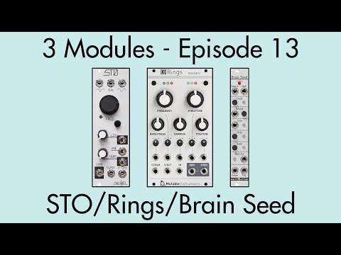 3 Modules #13: STO, Rings, Brain Seed