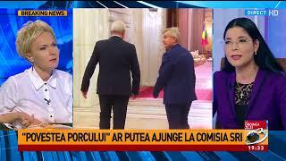 """Ana Birchall despre Victor Ponta și """"Povestea porcului"""""""
