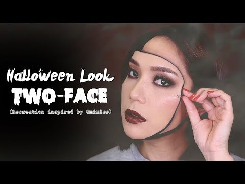 DAILYCHERIE : คนสองหน้า Halloween Look 2018 - วันที่ 26 Oct 2018
