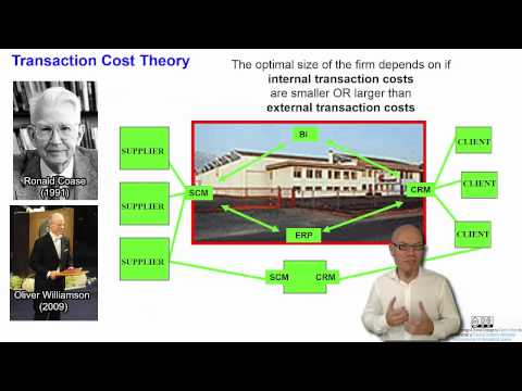 DT&SC 5/6-15: Transaction Cost Theory