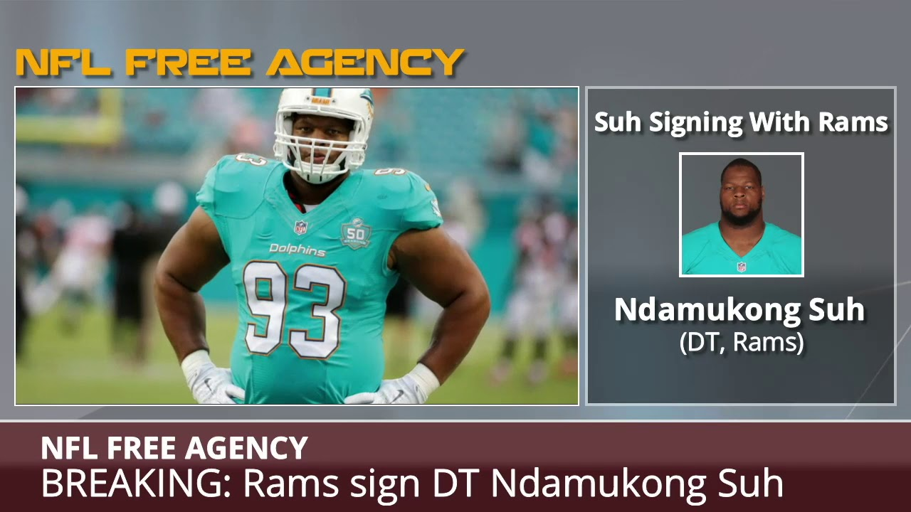 9eb576dde BREAKING  Rams Sign DT Ndamukong Suh - Details and Analysis - YouTube