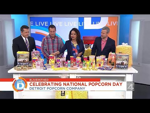 Live in the D: Celebrate National Popcorn Day