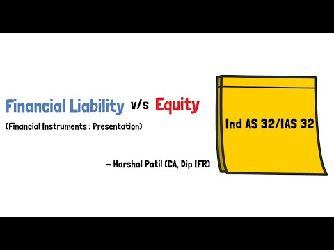Financial Liability vs Equity Instrument