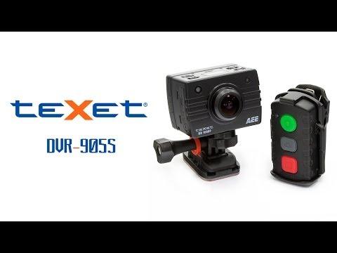 Texet DVR-905S — экшн камера-видеорегистратор — видео обзор 130.com.ua