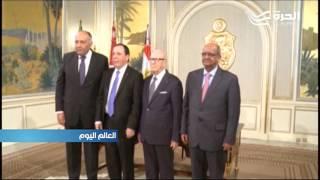 تحقيق مصالحة ورفض التدخل الاجنبي... توقيع إعلان بين الجزائر وتونس ومصر لدعم التسوية في ليبيا