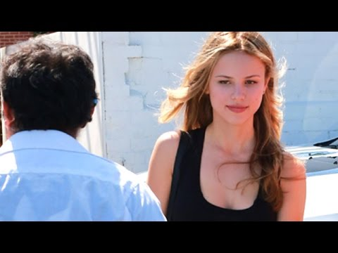 EXCLUSIVE - Halston Sage Stuns At The Salon