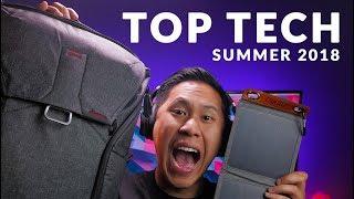 MUST HAVE Tech For The Summer & Travel   LED TV Backlights, DJI OSMO Mobile 2, Peak Design, & MORE!