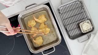 [쿡에버] 새우튀김 (더블그릴팬)