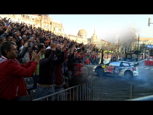WRC visto por milhares no Porto.