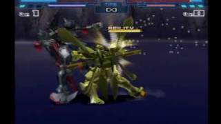 Battle Assault 3: Burning Gundam vs master Gundam