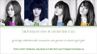 miss A - Touch (Color Coded Han|Rom|Eng Lyrics)