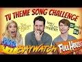 watch he video of TV THEME SONG CHALLENGE (feat. Calum Worthy & Rebecca Zamolo)