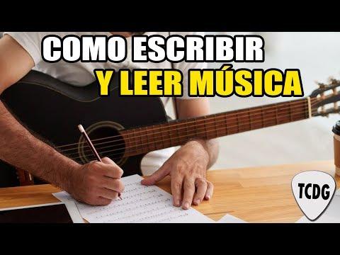 Aprende música fácil! Como leer y escribir las notas en el pentagrama | Curso para principiantes