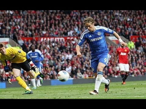 Torres miss vs. Utd | Manchester United 3-1 Chelsea | Sep 18th 2011