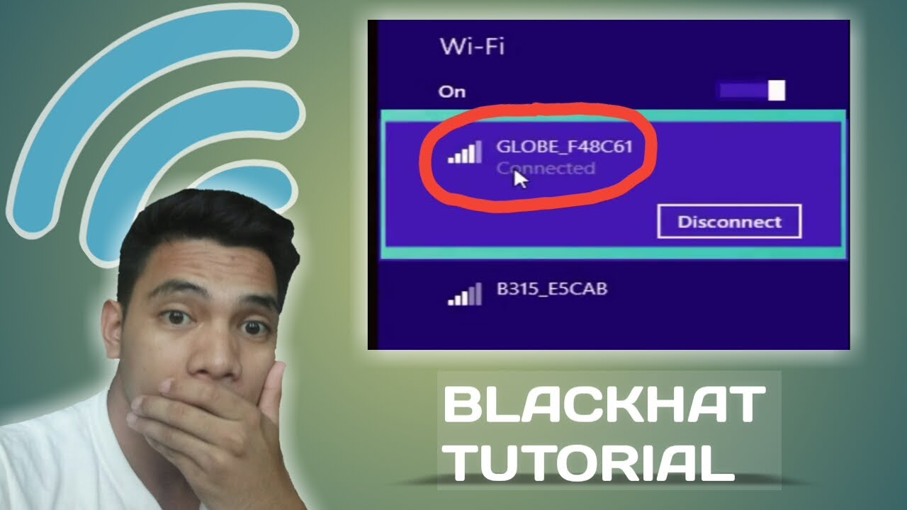 HOW TO HACK ANY WIFI NETWORK EASY (BLACKHAT TUTORIAL  2) - YouTube b07a4c1a920