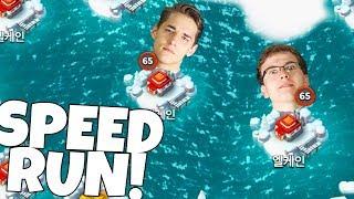 JIMMY VS CHRISTIAN Boom Beach Speedrun Challenge!