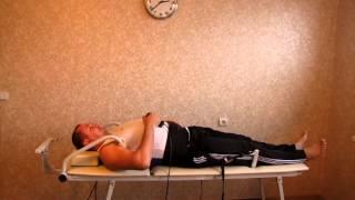 Лечение позвоночника - тракционный стол дома