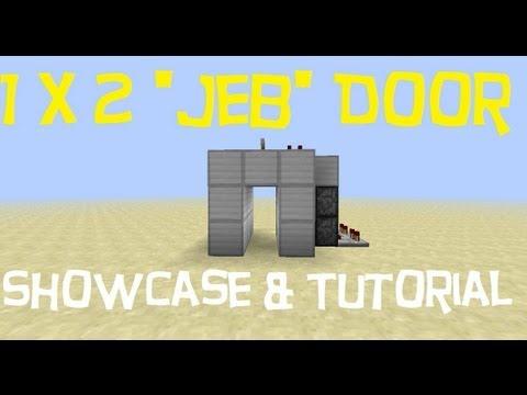 Minecraft 1 X 2 Quot Jeb Quot Flush Door 1 5 1 Showcase