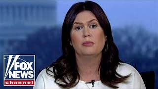 Sarah Sanders accuses House Dems of abusing their power