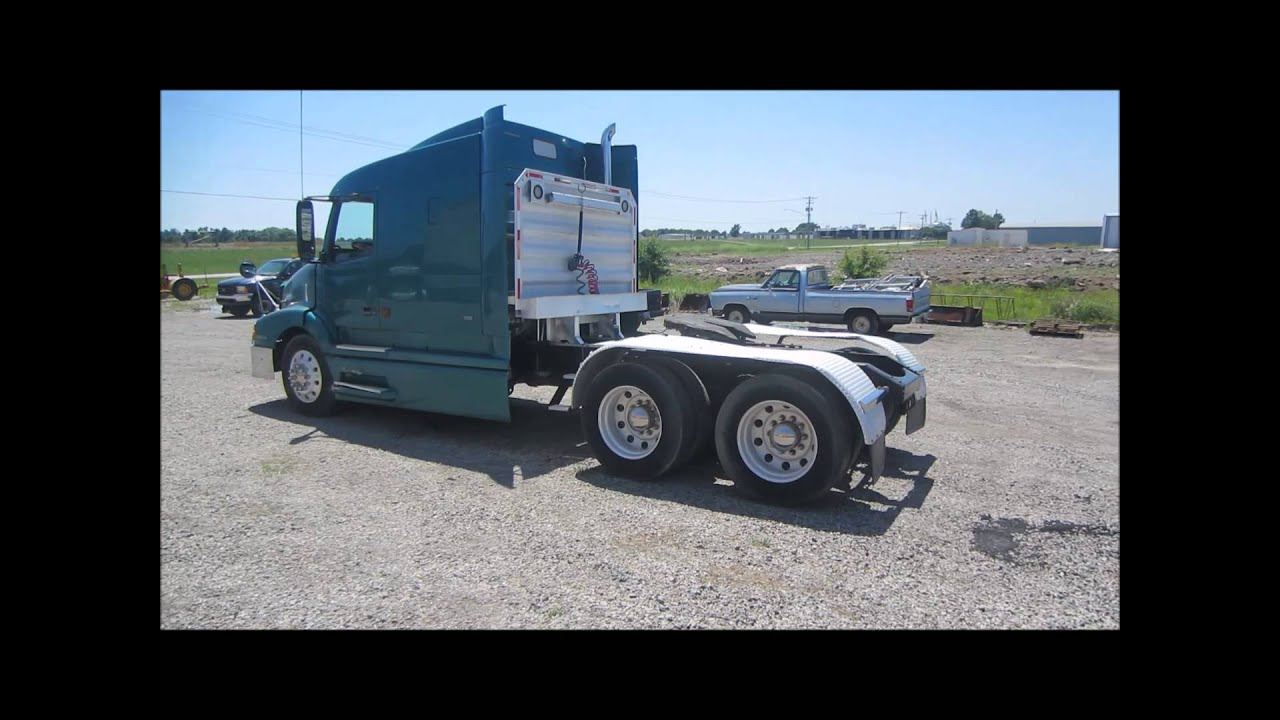 1998 Volvo VN semi truck for sale | sold at auction June 26, 2014 - YouTube