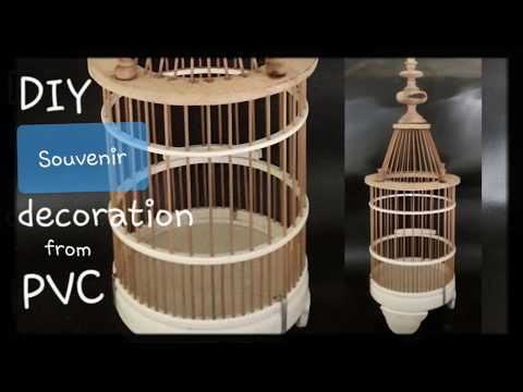 DIY | How to Make Decorations at Home - Bird Cage Models