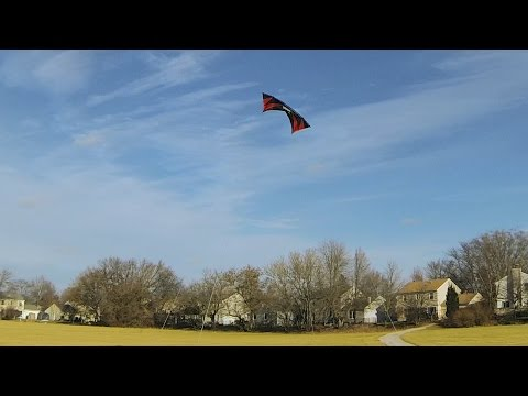 Solo Revolution Quad-line Kite Fly on December 26, 2014
