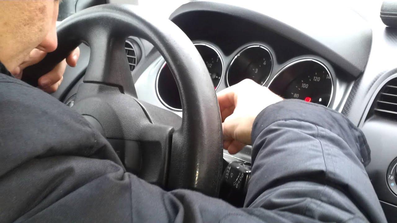 как разблокировать руль на вольво