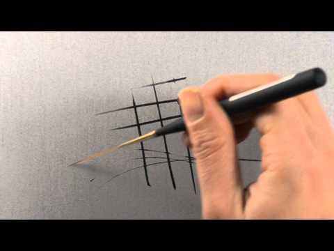 Princeton Extra Long Liner Paint Brush