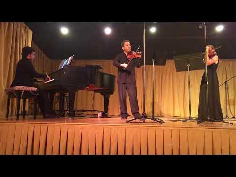 VIOLIN DUET, NAVARRA, Op.33 by Pablo de Sarasate, Exciting Spanish Piece for 2 Violins