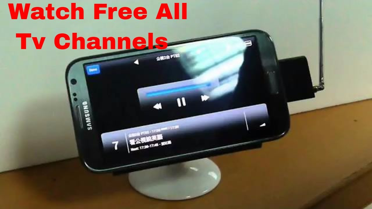 Watch Free All TV Channels on Android Phone without Internet! - YouTube