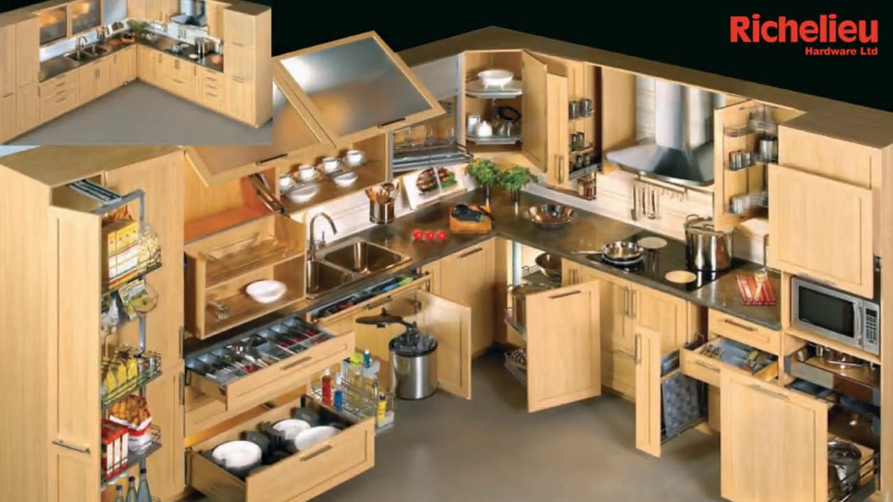 Kitchen Cabinet Accessories Blind Corner India Youtube