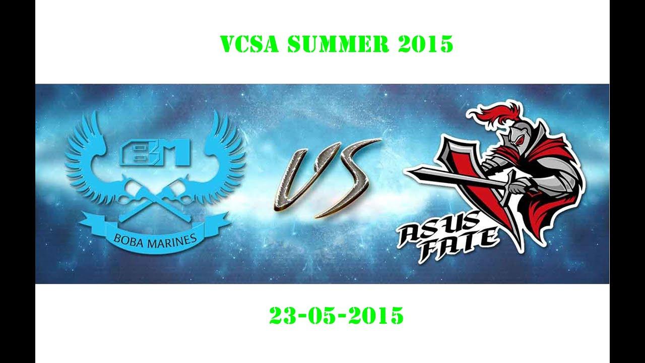 Highlight Boba Marines vs ASF - VCSA mùa hè 2015