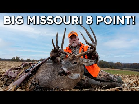 Giant Missouri 8 Pointer | Rut Hunting Action | Whitetail Properties
