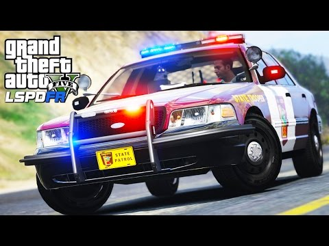 GTA 5 - LSPDFR #39 | Minnesota State Trooper