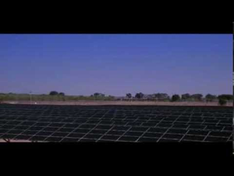 First Solar Video at Kiran Energy Solar Power Power Ltd.