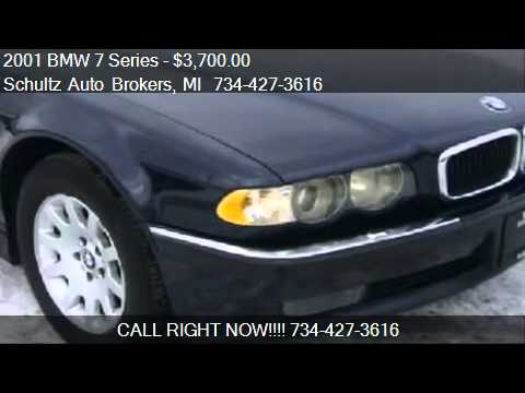 2001 BMW 7 Series 740iL for sale in Livonia, MI 48150 at Sch