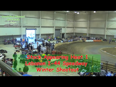 Stock Appearing Heat 1  I 44 Speedway Winter Shootout 1 20 2018