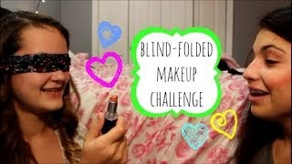 ❋ Blindfolded Makeup Challenge ❋ Thumbnail
