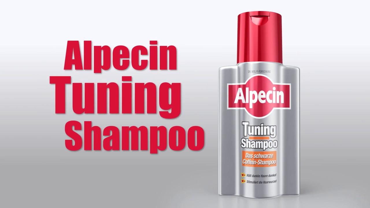 tuning shampoo das schwarze coffein shampoo alpecin youtube