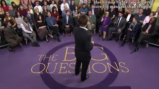 BBC 2 Debate - Has Human Rights achieved more than Religion? The Big Questions thumbnail