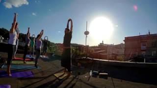 Йога на крыше с Денисом Бучмой 1/06/2017