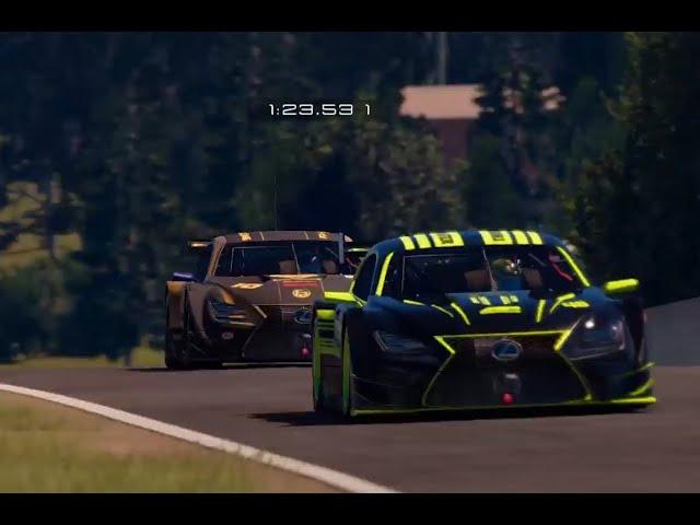 FPsimracing fun race Gt2 Lexus Mount Panorama
